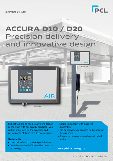 PCL-SUMO ACCURA D10 / D20 Tye Inflator Datasheet