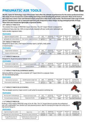 PCL-SUMO Air Tools